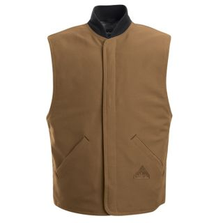 Bulwark® LLS2 Brown Duck Vest Jacket Liner - EXCEL FR  ComforTouch