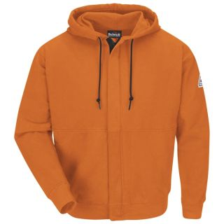 2 SEH4 Zip-Front Hooded Fleece Sweatshirt