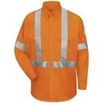 1.469 SLUS Hi-Visibility Work Shirt With CSA Compliant Reflective Trim - EXCEL FR  ComforTouch  - 6 oz.