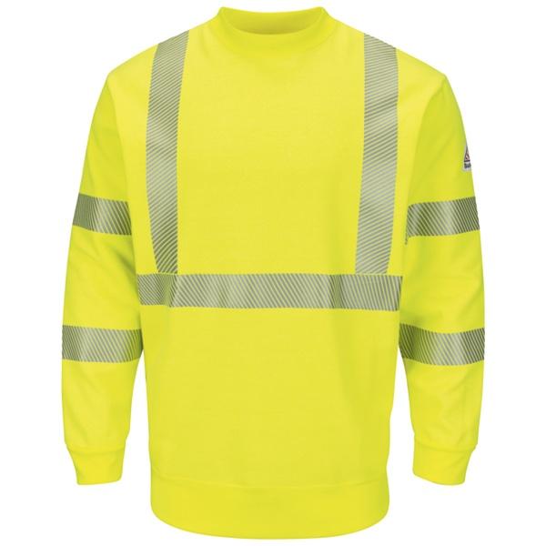 1.25 SMC4 Hi-Visibility Crewneck Fleece Sweatshirt
