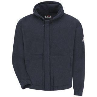 1.5 SMH6 Zip-front Hooded Fleece Sweatshirt - Modacrylic blend