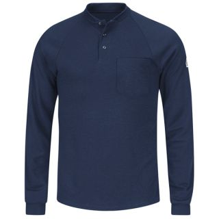 1.118 SML2 Long Sleeve Henley Shirt- CoolTouch 2