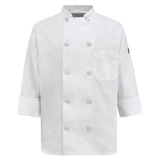 Chef Designs 0401 Womens Ten Pearl Button Chef Coat