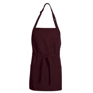 Chef Designs TT32 Premium Short Bib Apron