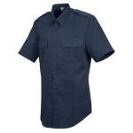 Horace Small HS1208 Men's New Dimension® Stretch Poplin?Short Sleeve Shirt?Dark Navy