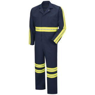 Red Kap® CT10_Enhanced Enhanced Visibility Action Back Coverall