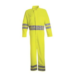 2 CT10_HiVis Hi-Visibility Zip-Front Coverall