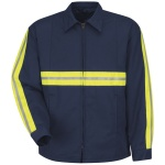Red Kap® JT50_Enhanced Enhanced Visibility Perma-Lined Panel Jacket