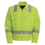 Red Kap JY32 Hi-Visibility Ike Jacket - Class 2 Level 2