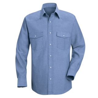 0.847 SC14 Mens Deluxe Western Style Shirt