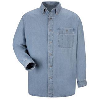 1.1 SD10 Mens Wrangler Denim Shirt