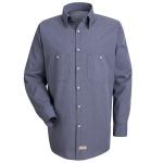 Red Kap® SP10_Micro Mens Micro-Check Uniform Shirt