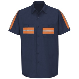 Red Kap® SP24_Envis Enhanced Visibility Shirt