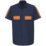 Red Kap SP24 Enhanced Visibility Shirt - Short Sleeve