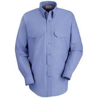 0.772 SP50 Mens Striped Dress Uniform Shirt