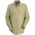 Red Kap® SP50_Solid Mens Solid Dress Uniform Shirt