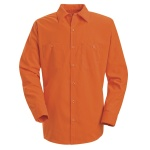 Red Kap SS14 Enhanced Visibility Work Shirt - Long Sleeve