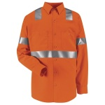 Hi-Visibility SS14 Hi-Visibility Work Shirt - Class 2 Level 2 - Long Sleeve