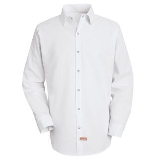 0.941 SS16 Mens Specialized Pocketless Polyester Work Shirt