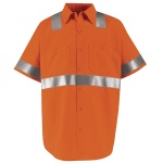 Hi-Visibility SS24 Hi-Visibility Work Shirt - Class 2 Level 2 - Short Sleeve