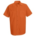 Red Kap SS24 Enhanced Visibility Work Shirt - Short Sleeve