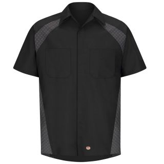 Red Kap® SY26 Diamond Plate Shop Shirt