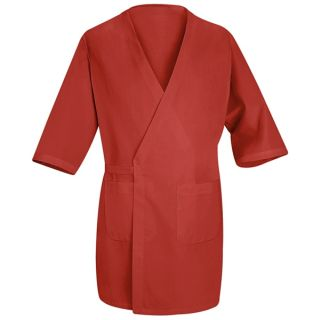 Red Kap® WP10 Collarless Butcher Wrap