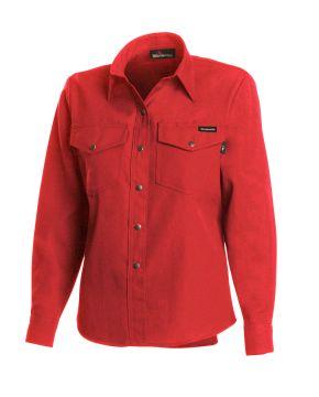 Workrite 221NX45 4.5 oz Nomex IIIA Long Sleeve Women's Western-Style Shirt