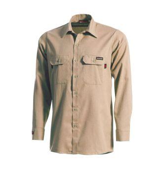 Workrite 231UT55 5.5 oz UltraSoft Long Sleeve Work Shirt Chambray