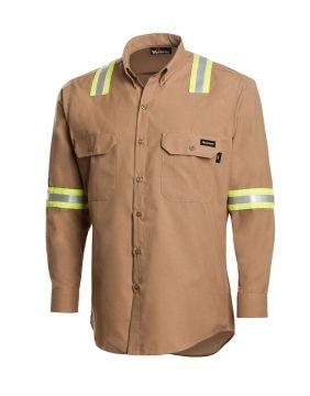 Workrite 256GG45 4.5 Gg Dress Shirt w/Tape
