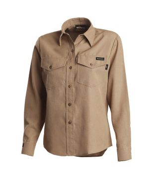 Workrite 291NX45 4.5 oz Nomex IIIA Long Sleeve Women's Utility Shirt