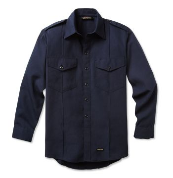 Workrite 715NX45 4.5 oz. Nomex IIIA Long-Sleeve Fire Chief Shirts With Working Epaulet