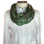 Wolfmark Neckwear C8020-INF-725-2560, Custom Wet Dye Infinity Scarf
