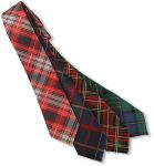 Wolfmark Neckwear CPLD-058N Capelle Collection Plaid Woven Polyester Tie