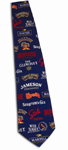 Wolfmark Neckwear CWDPT Custom Wet Dyed Polyester Tie