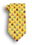 Wolfmark Neckwear EQUE-058 Equestrian Novelty Tie