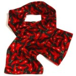 Wolfmark Neckwear HOTS-845 Hot & Spicy Silk Novelty Scarf