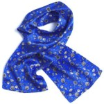 Wolfmark Neckwear KITC-845 Kitchen Theme Silk Novelty Scarf
