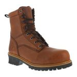 "Warson Brands FE860 Mens Composite Toe 9"" Logger Waterproof Boot"