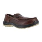 Warson Brands FS2740 FS2740 Mens Composite Toe Casual Moc Toe Twin Gore Slip-On