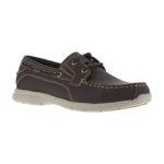 Warson Brands G0023 G0023 Mens Soft Toe Two Eye Tie Boat Shoe