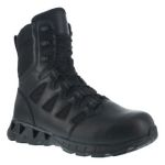 "Warson Brands RB846 Womens Composite Toe 8"" Tactical Boot with Side Zipper"