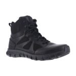 "Warson Brands RB8605 Mens Soft Toe 6"" Tactical Boot with Side Zipper"