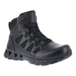 "Warson Brands RB863 Womens Soft Toe 6"" Tactical Waterproof Boot with Side Zipper"