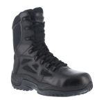 "Warson Brands RB874 RB874 Womens Composite Toe Stealth 8"" Boot with Side Zipper"
