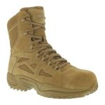 "Warson Brands RB8850 Mens Composite Toe Stealth 8"" Boot with Side Zipper"