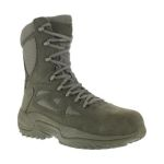"Warson Brands RB899 RB899 Womens Composite Toe Stealth 8"" Boot with Side Zipper"