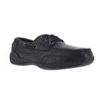 Warson Brands RK638 RK638 Womens Steel Toe 3 Eye Tie Boat Shoe