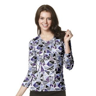 Wink Scrubs 2409 2409 All-over Printed Tee
