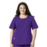 Wink Scrubs 6305 Decorative V-Neck Top